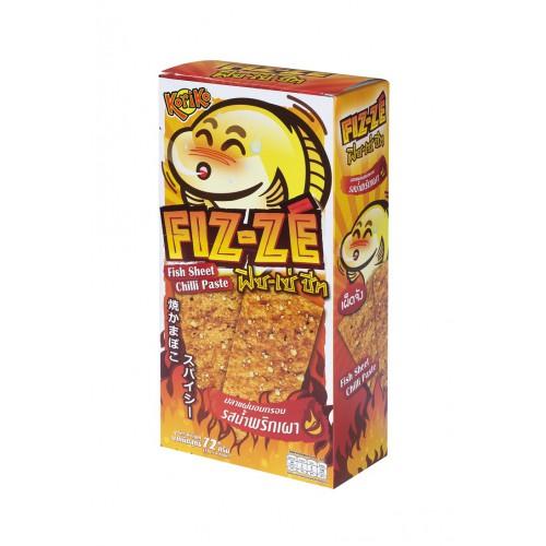 泰國脆魚片 (香辣味) - 12 克 x 6包
